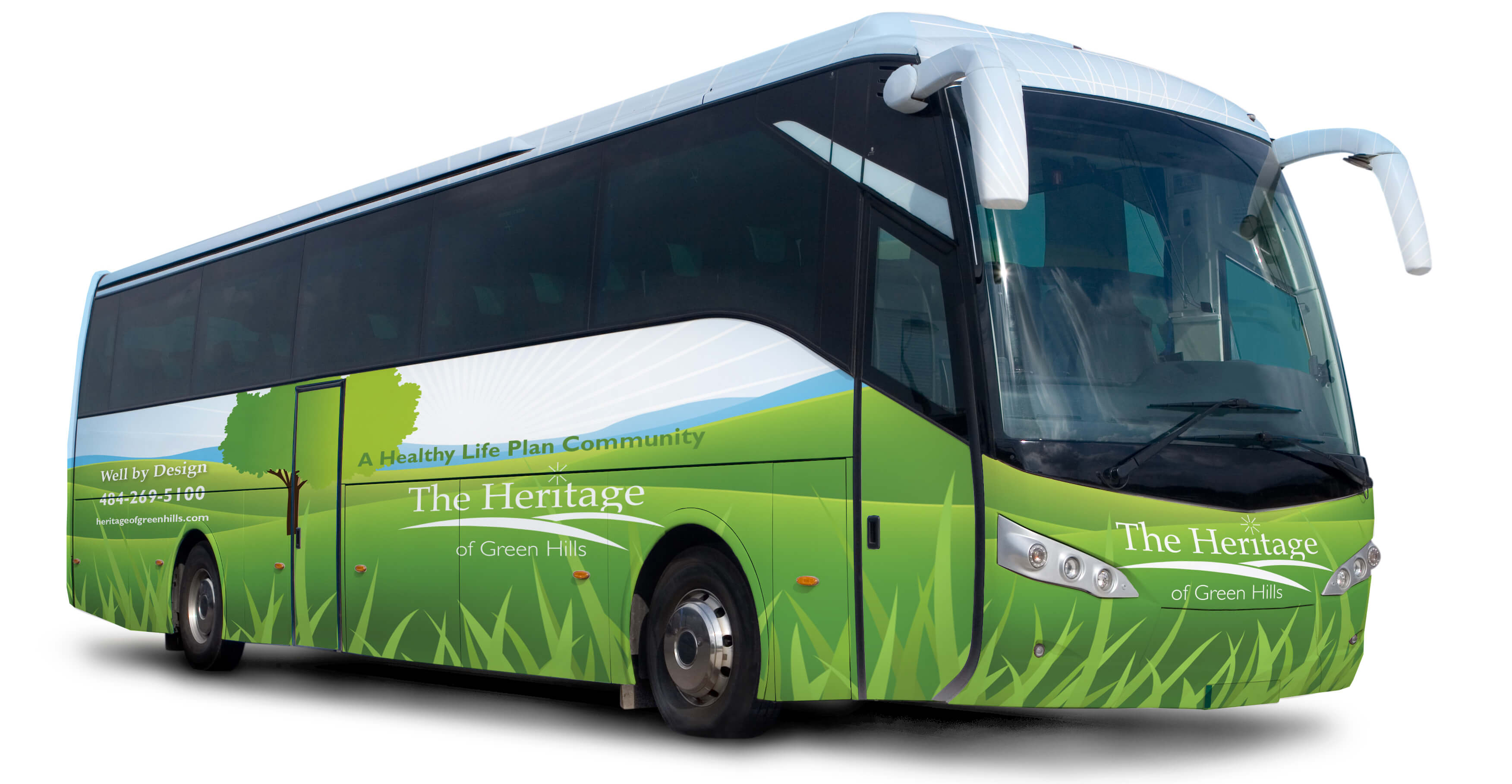 Heritage of Green Hills Bus Wrap